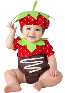Traje de Fresa de Chocolate Infantil