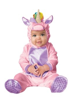 Disfraz de unicornio rosa infantil