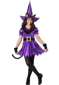 Disfraz de bruja Kitty Kat para niñas
