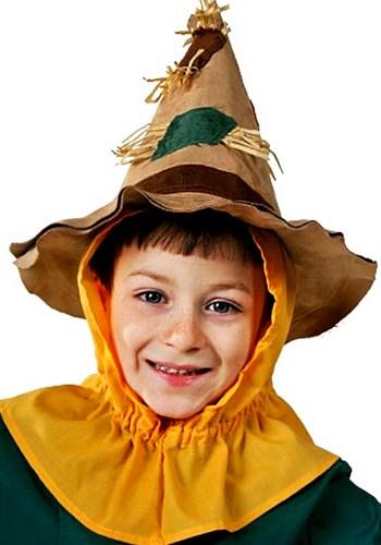Gorra infantil de espantapájaros