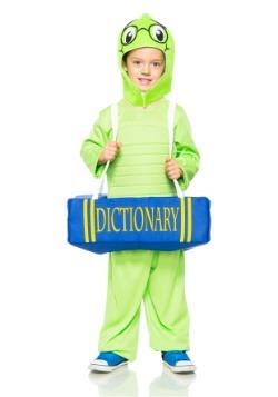 Disfraz de gusano libro infantil