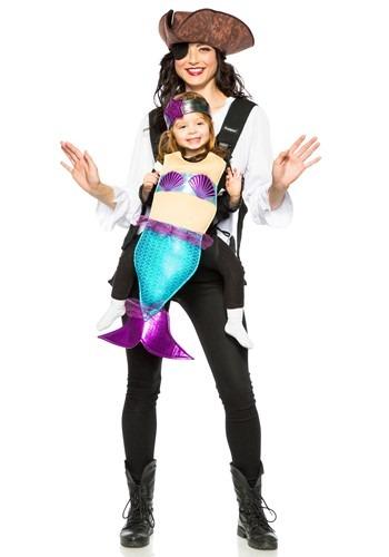 Disfraz de Pirata y Sirena Adulto