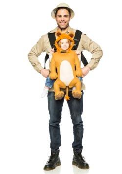 Guía de Safari para Adultos y Traje de Portador de León