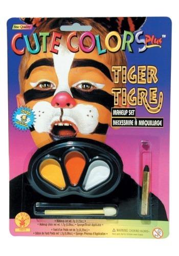 Kit de maquillaje de tigre