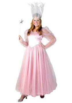 Disfraz de lujo Glinda adulto