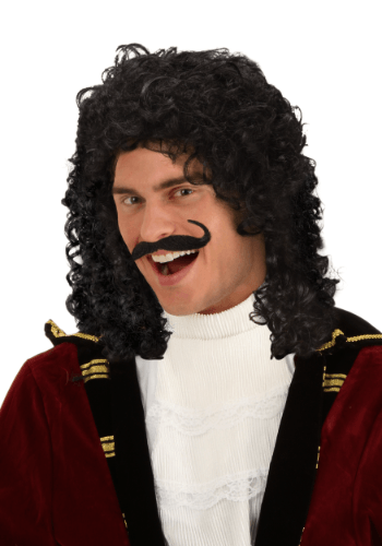 Peluca para disfraz de Capitán Garfio