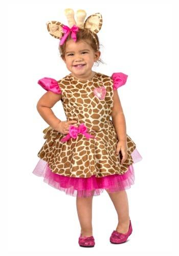 Traje de jirafa Gigi para niños pequeños