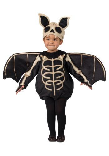 Traje de murciélago esqueleto del niño