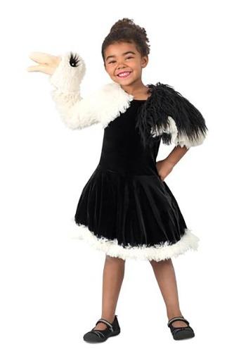 Disfraz de marioneta avestruz para niñas