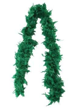 Boa de plumas verde de 80 gramos