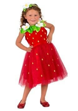 Disfraz de fresita niña Sweetie