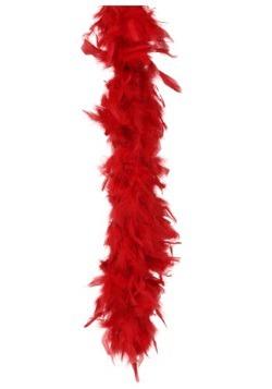 Boa de plumas rojas de 80 gramos