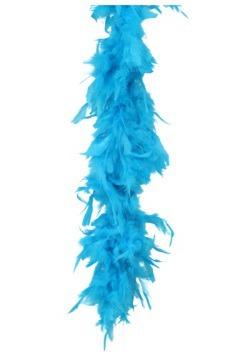 Boa de plumas turquesa de 80 gramos