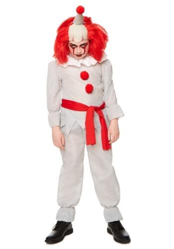 Disfraz de payaso de terror infantil
