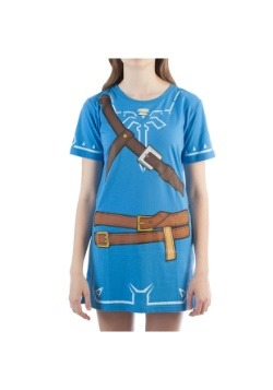 Aliento de mujer Zelda Link cosplay túnica