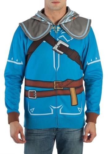 Aliento de hombre de Zelda Wild Up Zombie disfraz Hood
