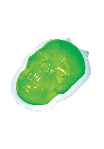 Molde de gelatina de calavera