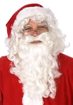 Juego de peluca y barba de Santa Claus