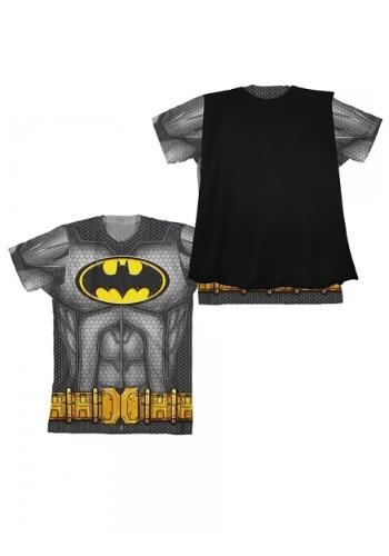 Camiseta de capa de Batman para niños