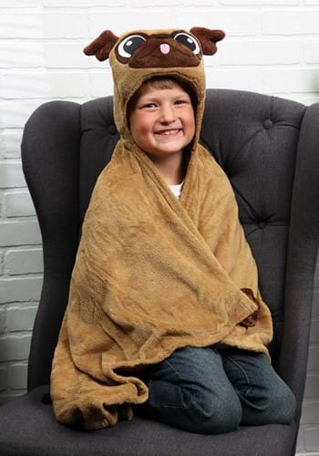 Manta cómoda de Pickle the Pug