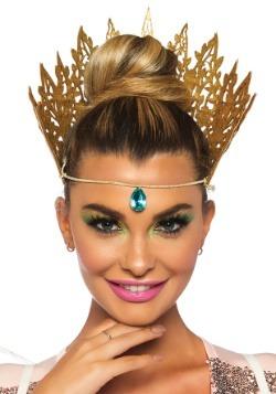 Glitter Crown con Jewel Accent