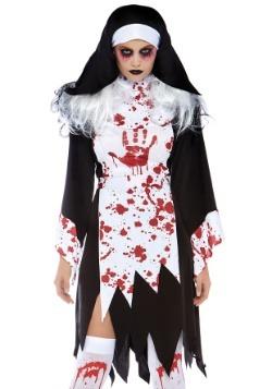 Disfraz de monja mortal femenina