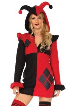Disfraz de Harlequin acogedor para mujer