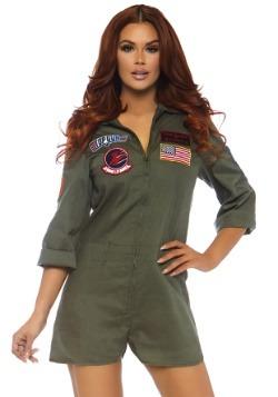 Romper de piloto Top Gun para mujer