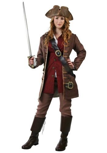 Disfraz auténtico Pirata Caribeña 1