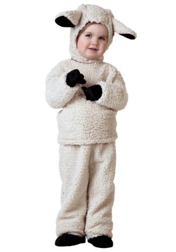 Disfraz de oveja para niños pequeños