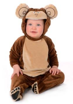 Disfraz de mono pequeño infantil