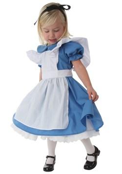 Disfraz de Alicia para niños pequeño deluxe 1