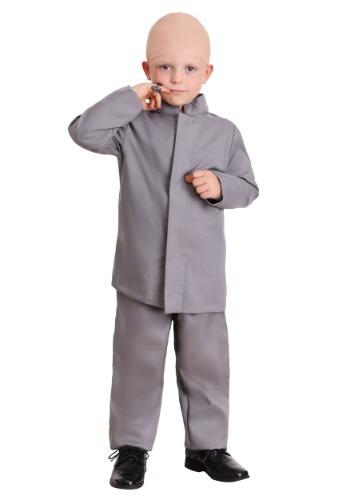 Traje de traje gris para niños pequeños