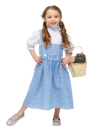 Vestido de chica de Kansas para niños pequeños