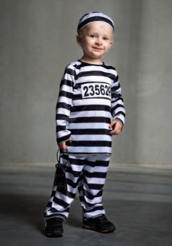 Disfraz de prisionero para niños pequeños