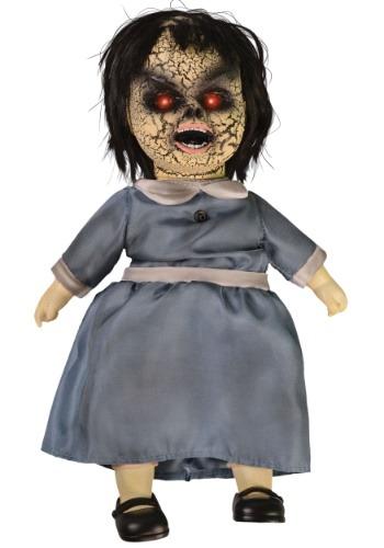 Muñeca de porcelana embrujada - Vestido azul