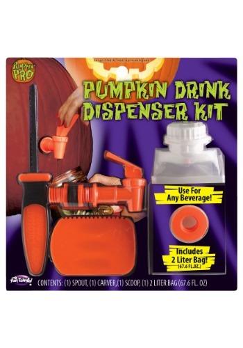 Kit dispensador de bebidas de calabaza