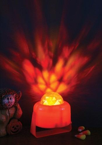 Calabaza en flameante con luz