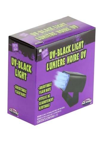 Luz negra intensa