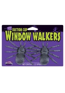 Mini arañas trepadoras de ventana