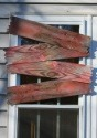 Tableros de ventana embrujados - Manchas de sangre