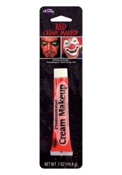 Maquillaje en crema profesional rojo
