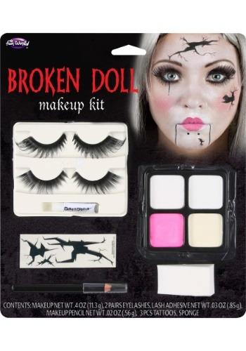 Kit de maquillaje de muñeca rota