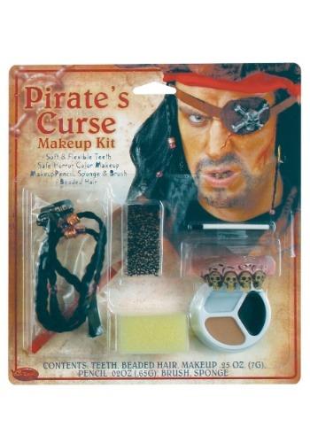 Kit de maquillaje de maldición de piratas1