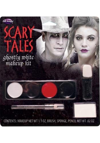 Kit de maquillaje blanco fantasmal
