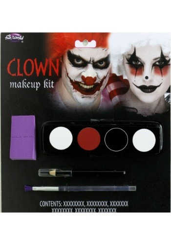 Kit de maquillaje de payaso Fun World