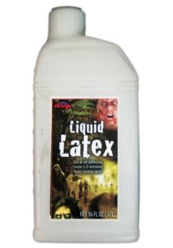 Botella de una pinta de látex líquido