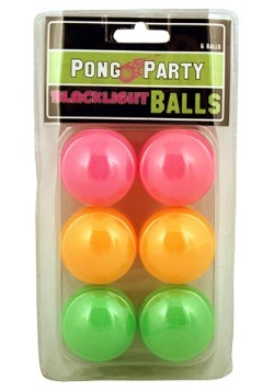 Blacklight Pong Balls