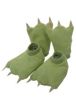 Niños dinosaurios manos y pies