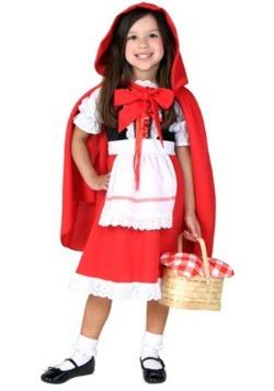 Disfraz de Caperucita Roja para niño pequeño